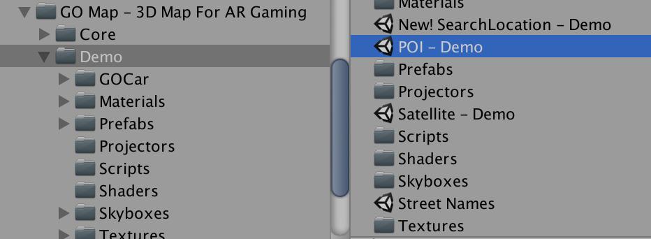 Build the demo scenes - GO Map - Unity 3D Asset
