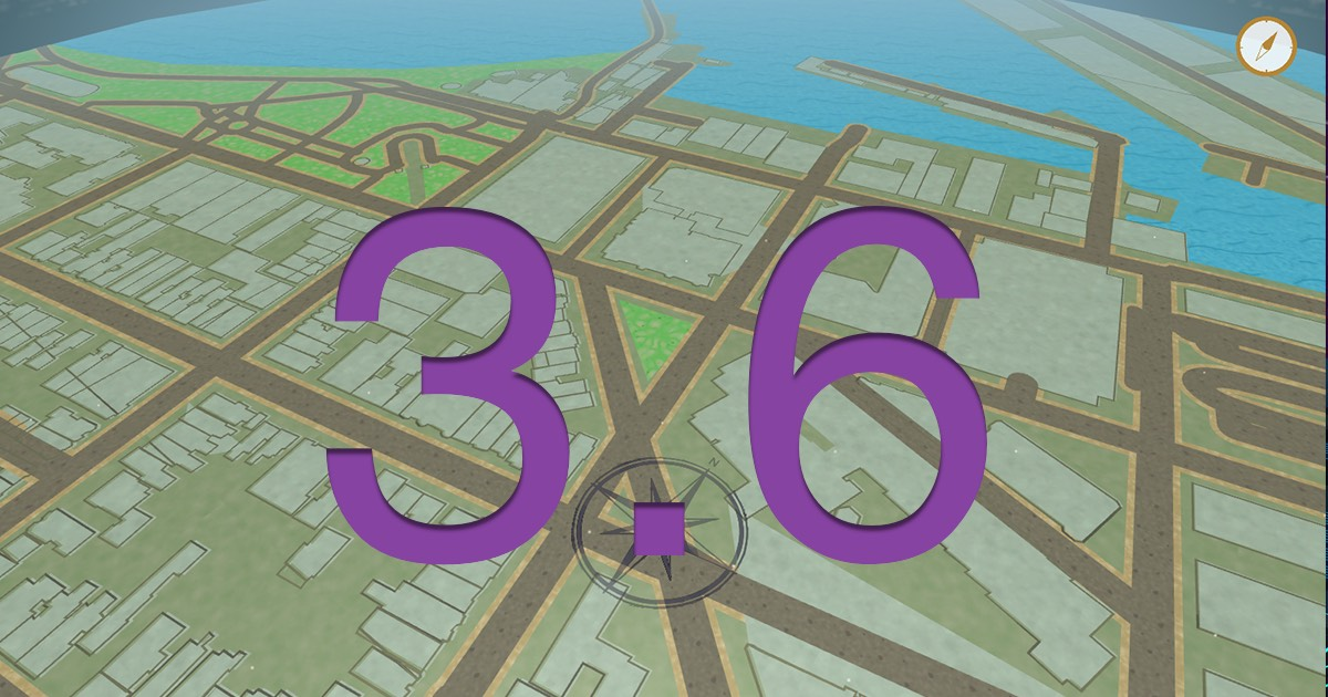 GO Map 3.6 is here!